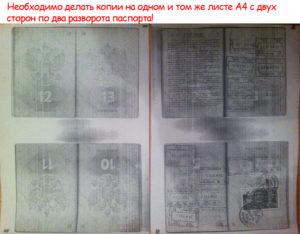 Как сделать копии паспорта на визу в испанию