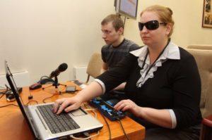 Создание рабочего места для инвалида по слуху
