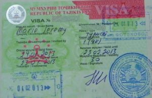 Какие документы нужны для посещение в турции гражданам таджикистан
