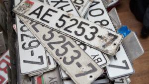 Сколько действительны транзитные номера в беларуси