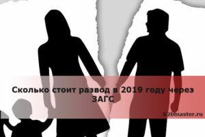 Сколько стоит развод в саратове в 2019