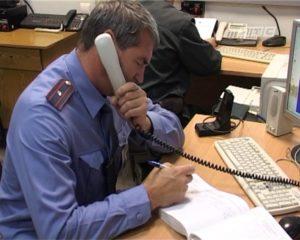 Как позвонить а полицию инкогнито