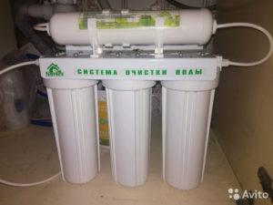 Сменного встроенного фильтра для воды нортекс трехступенчата очистка стандарт