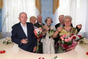 Отметившие 50 лет совместной жизни сколько получают в спб