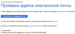 Как узнать кому принадлежит адрес электронной почты