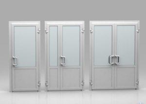 Дверь входная алюминиевая косгу 310 или 340 в 2019г