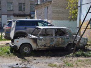 Сгорела машина как утилизировать