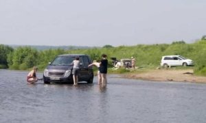 Как можно ставить машину у водоема в 2019