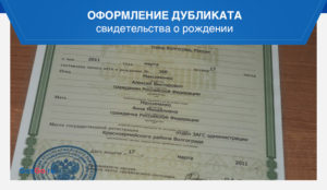 Оформить договор на выдачу дубликата документов