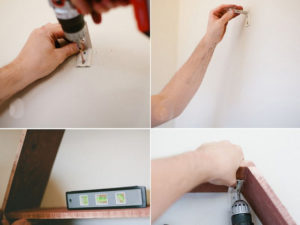 Как закрепить правило к стене