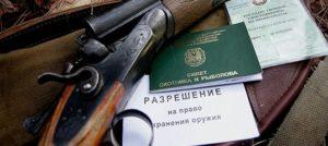Разрешение на оружие как получить 2019 красноярск