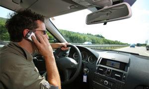 Сколько штраф за разговор по телефону